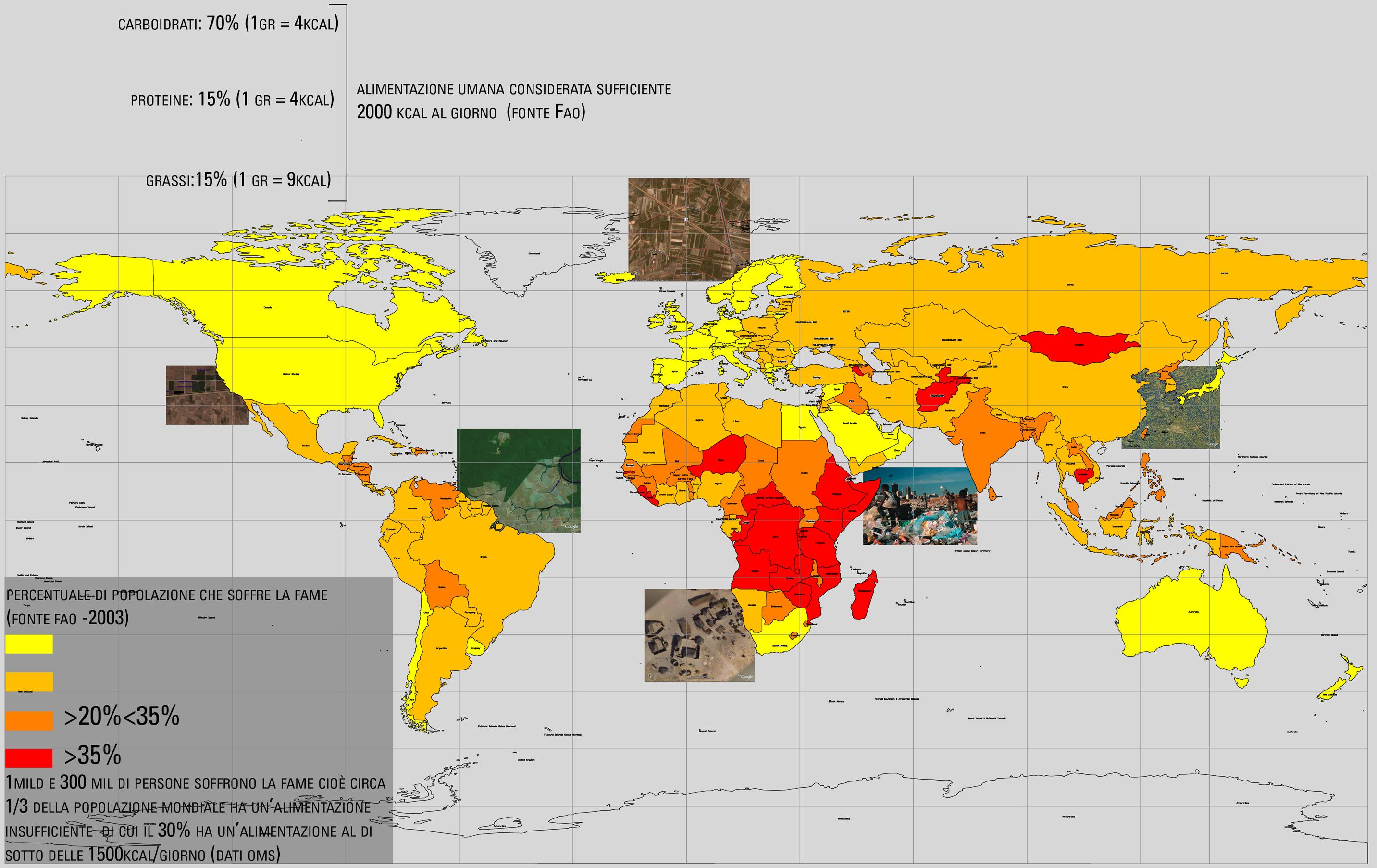 Cartina Fame Nel Mondo.Al Via Il Vertice Fao Cibo Architettura