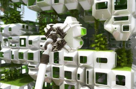 Eco pod cibo architettura for Eco architettura