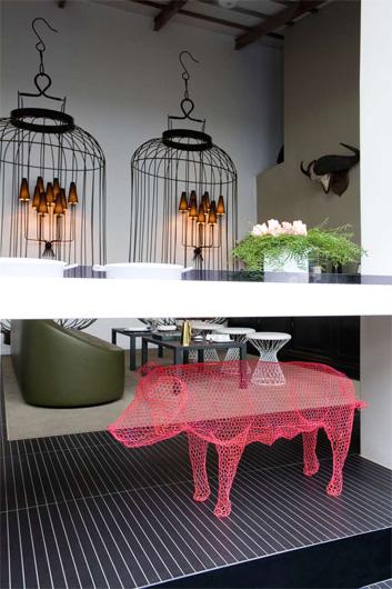 Al ristorante come a casa cibo architettura - Soprammobili design ...