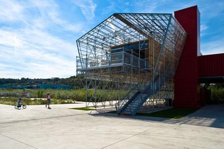 Ottobre 2011 cibo architettura for Architettura temporanea