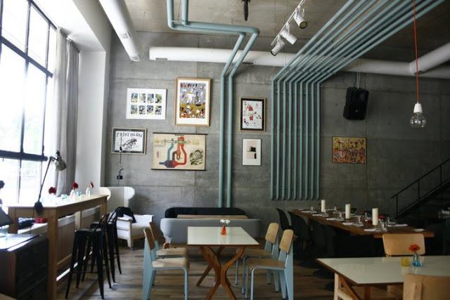 Ottobre 2012 cibo architettura - Tubi a vista in casa ...