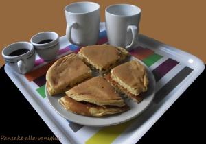 pancake alla vaniglia